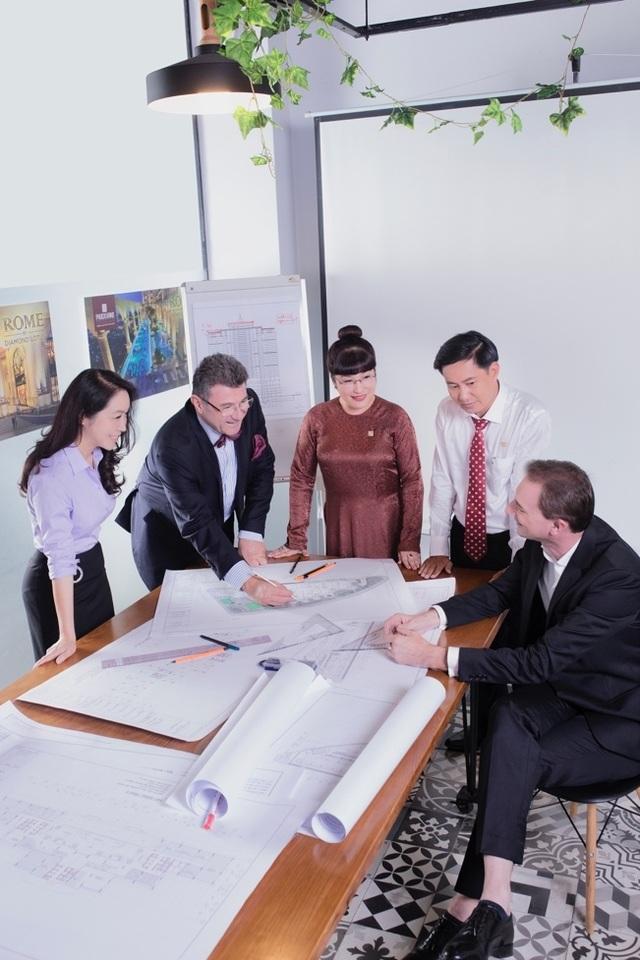 KTS Aldo: Rome by Diamond Lotus sẽ là biểu tượng kiến trúc mới cho Sài Gòn - 1