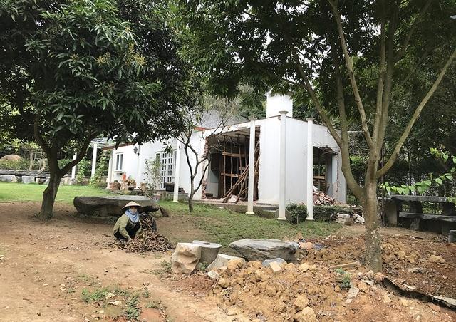Sóc Sơn đang phá dỡ các công trình vi phạm trên đất rừng - 10