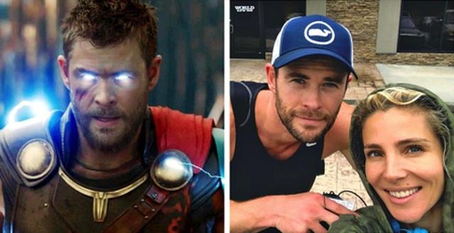 """Ngắm """"một nửa"""" xinh đẹp, quyến rũ của các siêu anh hùng ngoài đời thực - 2"""