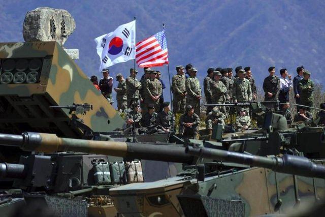 Triều Tiên cảnh báo đáp trả quân sự vì Mỹ - Hàn Quốc tập trận chung - 1