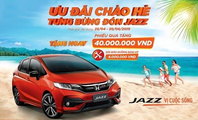 Honda khuyến mại lớn chào hè cho Jazz - 1