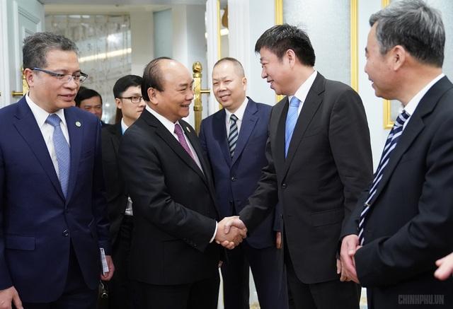 Tiếp doanh nghiệp Trung Quốc, Thủ tướng nói sẽ tổ chức đấu thầu quốc tế các dự án BOT, BT - 1
