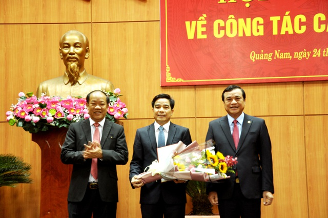 Nhân sự mới ở Quảng Nam