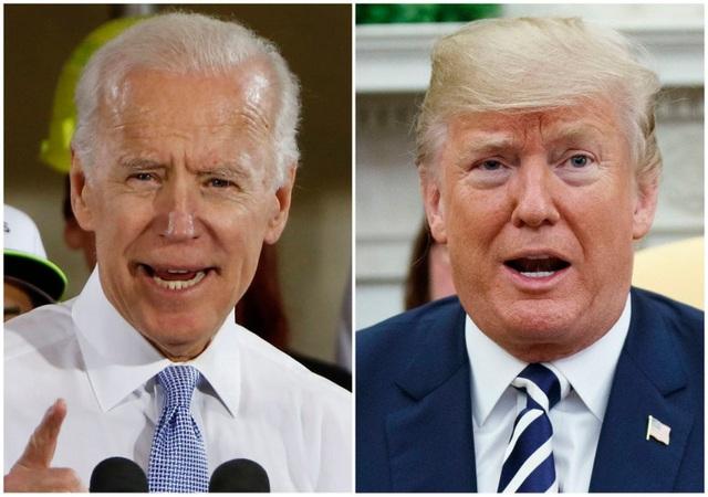 Ông Trump mỉa mai Biden ngủ gật khi cựu phó tướng của Obama tuyên bố tranh cử - 1