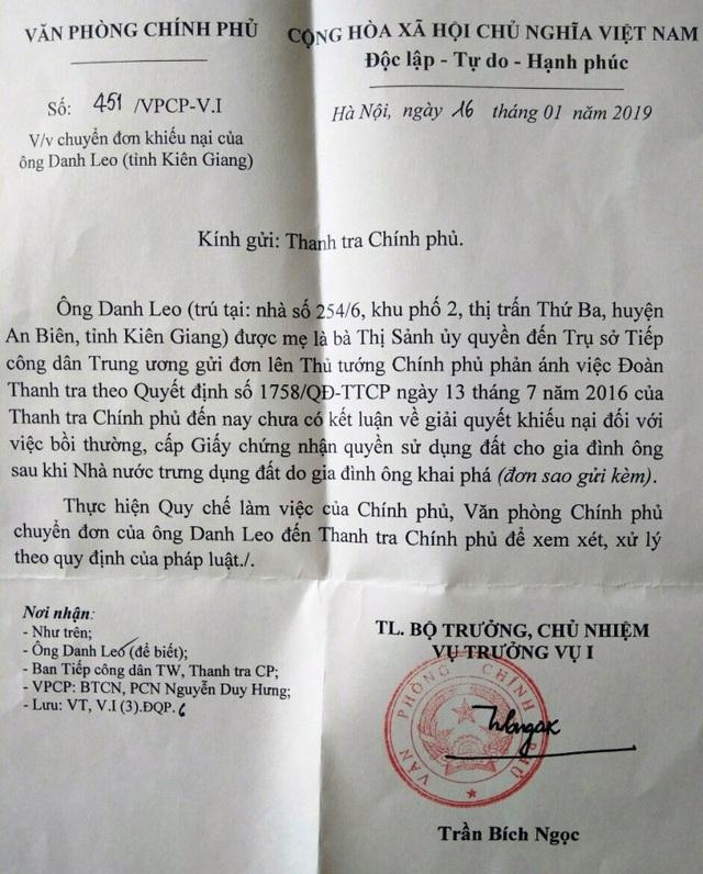 Kiên Giang: Vì sao chỉ đạo của Phó Thủ tướng Thường trực Chính phủ chưa được thực hiện? - 8