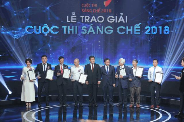 Sao Thái Dương đoạt giải cao tại Cuộc thi Sáng chế 2018 - 2