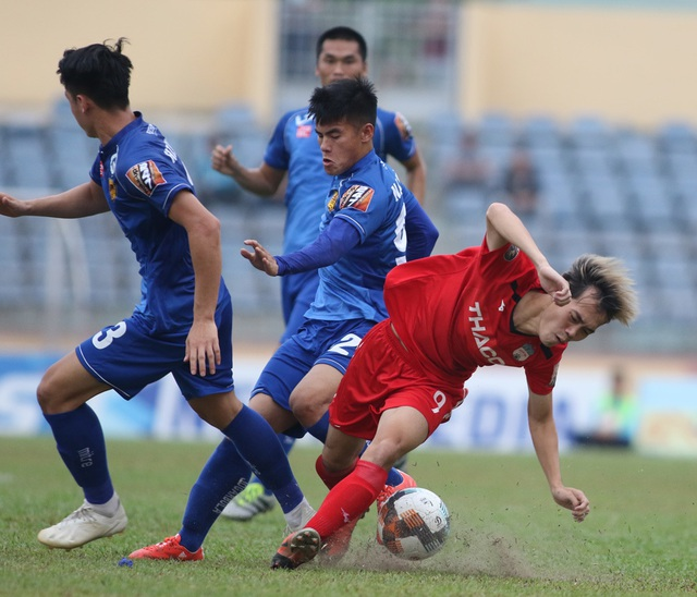 HA Gia Lai và Thanh Hóa dùng liệu pháp tinh thần ở trận chung kết ngược - 1