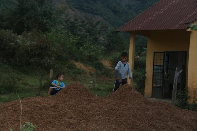 Cảm thương 150 học sinh dân tộc thiểu số kiếm con chữ trong những ngôi nhà tạm - 1