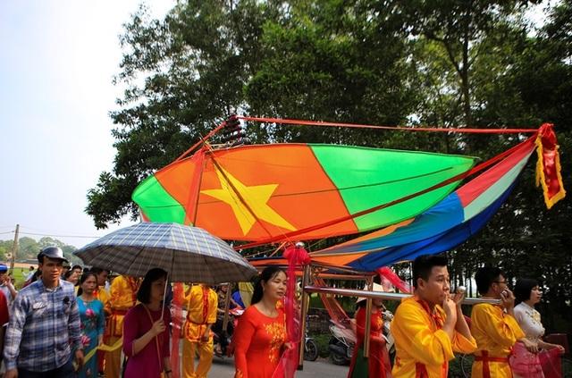 Độc đáo lễ hội diều rực rỡ màu sắc ở ngoại thành Hà Nội - 3