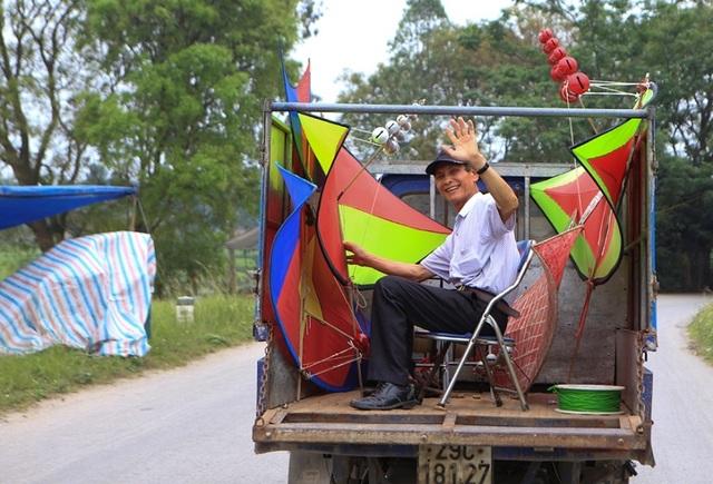 Độc đáo lễ hội diều rực rỡ màu sắc ở ngoại thành Hà Nội - 11