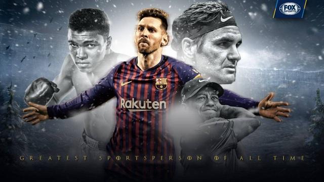 Messi được chọn là VĐV vĩ đại nhất mọi thời đại - 1