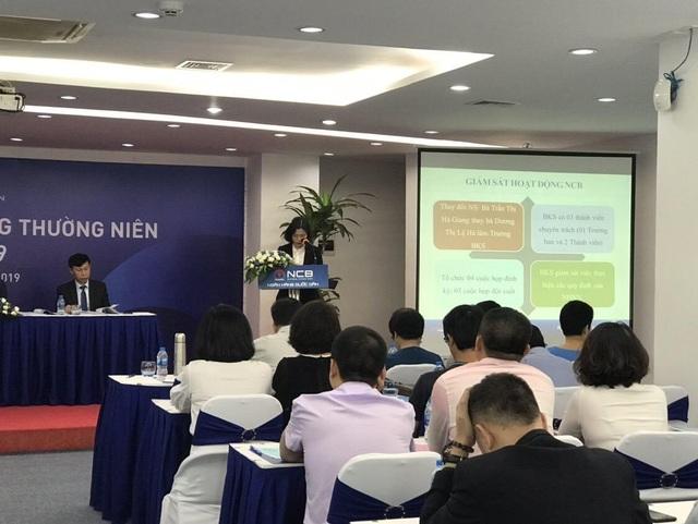 NCB tổ chức thành công đại hội đồng cổ đông thường niên 2019 - 2