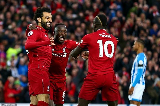 """Đại thắng """"5 sao"""", Liverpool lại vượt lên trên Man City - 2"""
