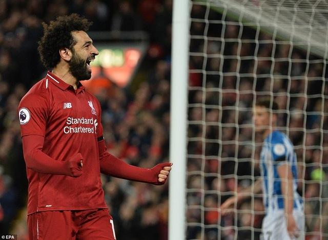 """Đại thắng """"5 sao"""", Liverpool lại vượt lên trên Man City - 1"""