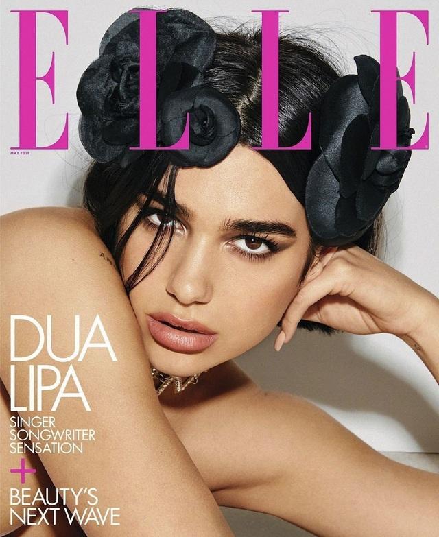 Dua Lipa quyến rũ và sang trọng trên tạp chí Elle - 5