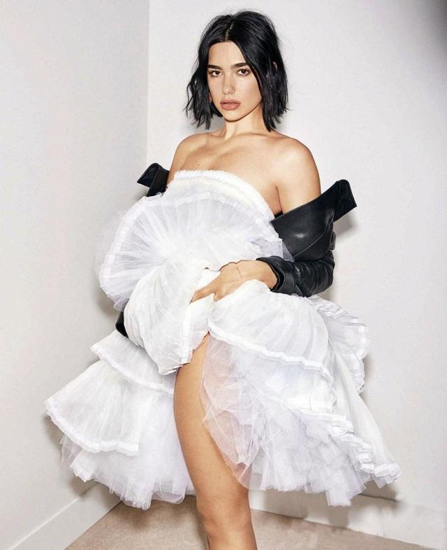 Dua Lipa quyến rũ và sang trọng trên tạp chí Elle - 1