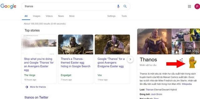 """Google tung """"chiêu độc"""" chào mừng siêu bom tấn """"Avengers: Endgame"""" - 1"""