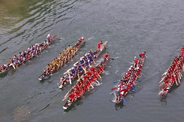 Rộn ràng Hội thi cá trắm và đua thuyền sông Son - 3