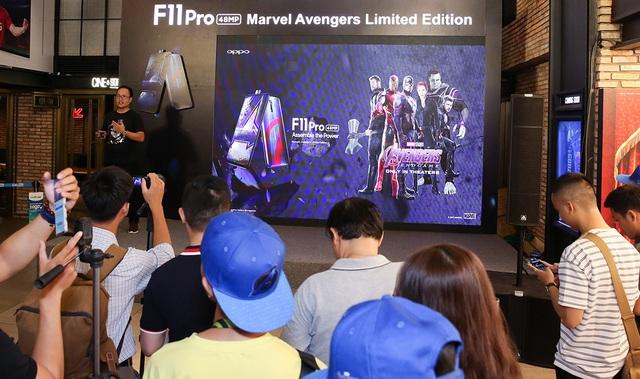 Oppo mang phiên bản F11 Pro Marvel's Avengers về Việt Nam, giá 8,9 triệu đồng - 1