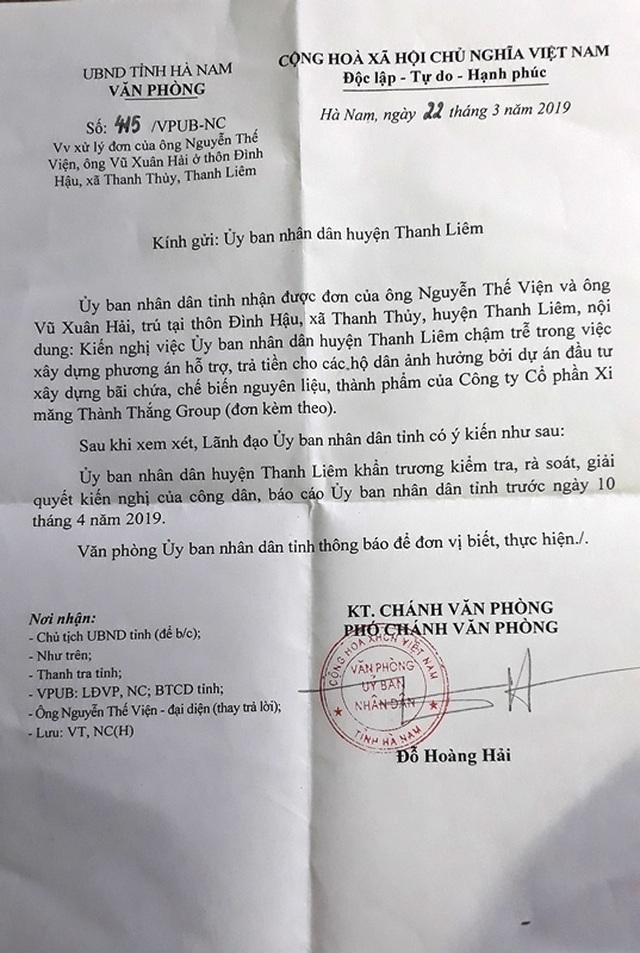 Hà Nam: Người dân tiếp tục khởi kiện UBND huyện Thanh Liêm ra toà! - 3
