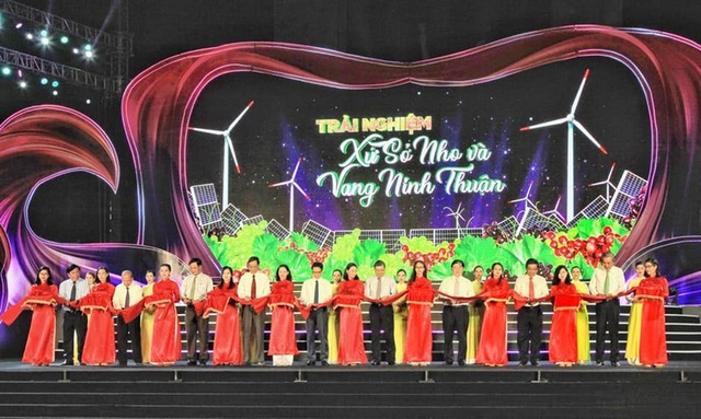 Ninh Thuận: Khai mạc lễ hội Nho 2019 - 1