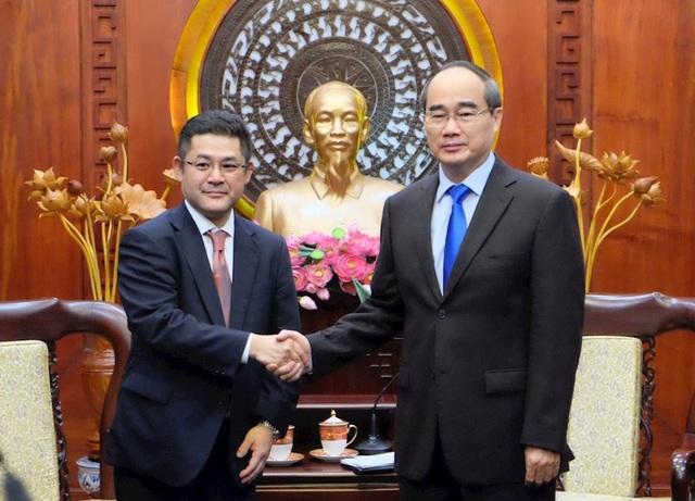 Bí thư Nguyễn Thiện Nhân: Hoan nghênh ngân hàng tham gia hợp tác PPP - 1