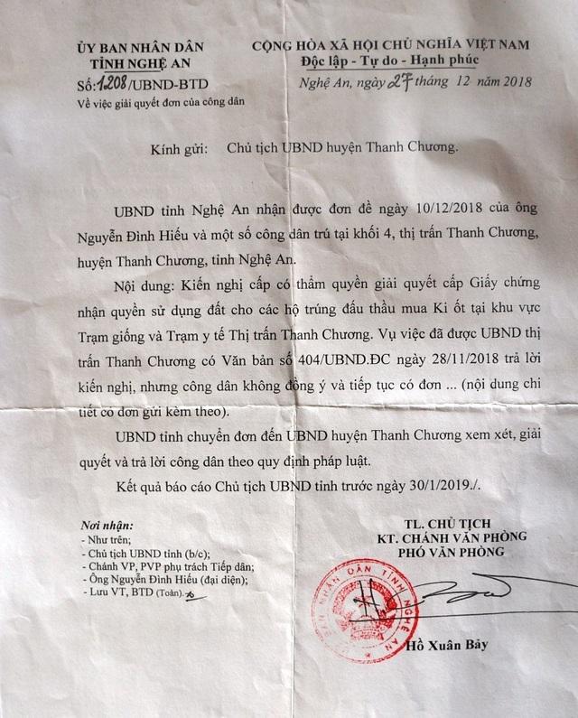 Nghệ An: Dân bất bình khi hàng loạt ki ốt bị giải tỏa để phân lô, đấu giá! - 9