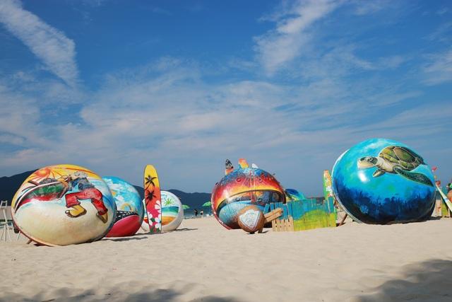 Check in biển Đà Nẵng với không gian Thuyền thúng sắp đặt nghệ thuật - 4