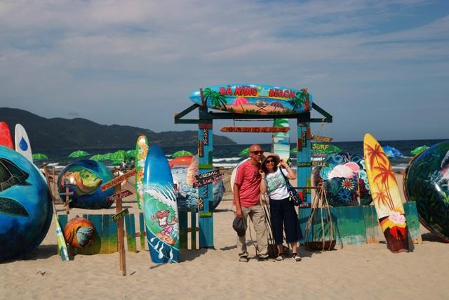 Check in biển Đà Nẵng với không gian Thuyền thúng sắp đặt nghệ thuật - 1