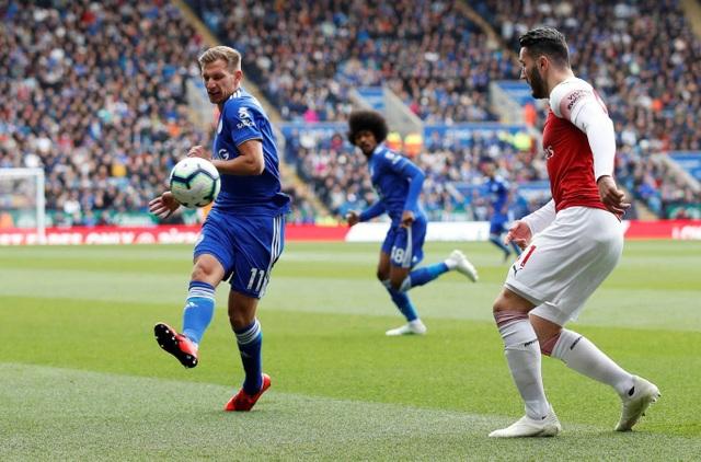 Nhìn lại trận thua tan tác của Arsenal trên sân Leicester - 5