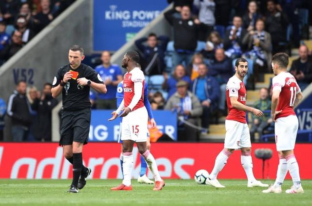 Nhìn lại trận thua tan tác của Arsenal trên sân Leicester - 8