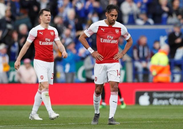 Nhìn lại trận thua tan tác của Arsenal trên sân Leicester - 13