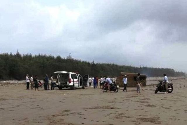 Tìm thấy thi thể nam thanh niên mất tích khi tắm biển ngày nghỉ lễ - 1
