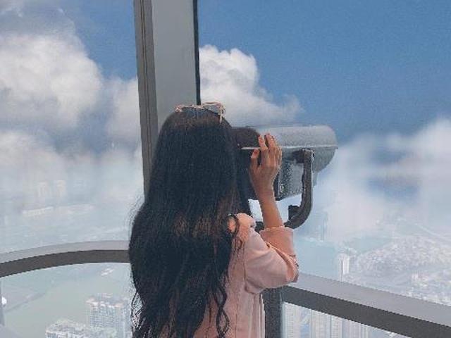 """""""Sống ảo trên mây"""" ở Đài quan sát Skyview cao nhất Đông Nam Á - 1"""