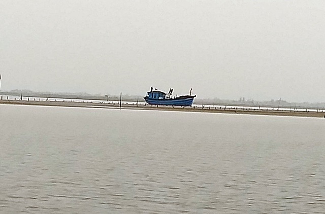 Cảng cá vừa nạo vét đã bị bồi lấp trở lại, ngư dân khóc ròng  - 2