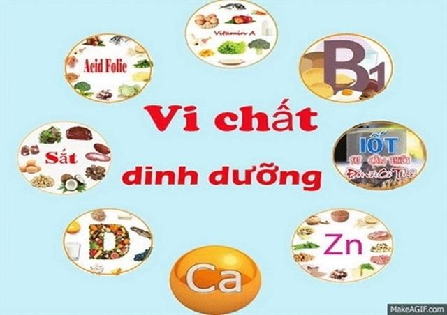 Chất dinh dưỡng vi lượng và sức khỏe - 1