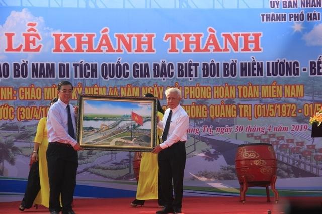 Khánh thành công trình tôn tạo bờ Nam di tích Quốc gia Hiền Lương - Bến Hải - 3