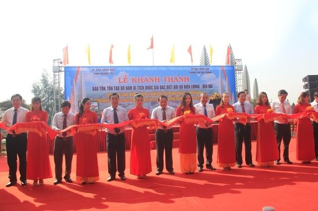 Khánh thành công trình tôn tạo bờ Nam di tích Quốc gia Hiền Lương - Bến Hải - 1
