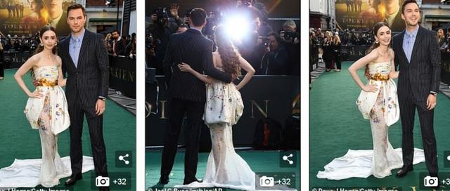 Lily Collins xinh đẹp như công chúa - 2