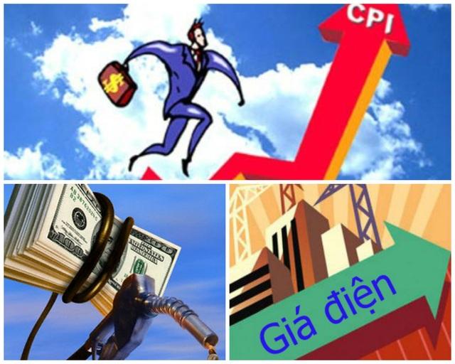 """Điện, xăng tăng giá đã """"ngấm"""" vào lạm phát tháng 4 - 1"""