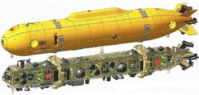 Siêu tàu ngầm chiến lược Belgorod của Nga và những đồn đoán - 3