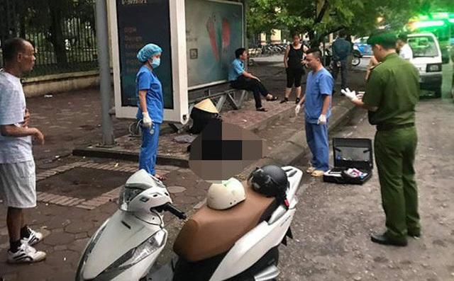 Hà Nội: Phát hiện người đàn ông tử vong tại nhà chờ xe buýt - 1