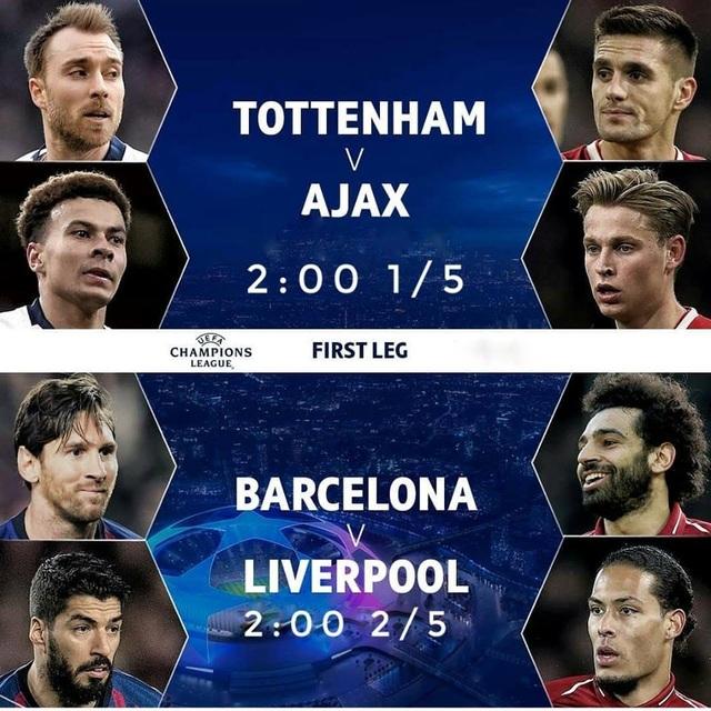 Messi là khác biệt lớn nhất trong 4 đội ở bán kết Champions League - 3