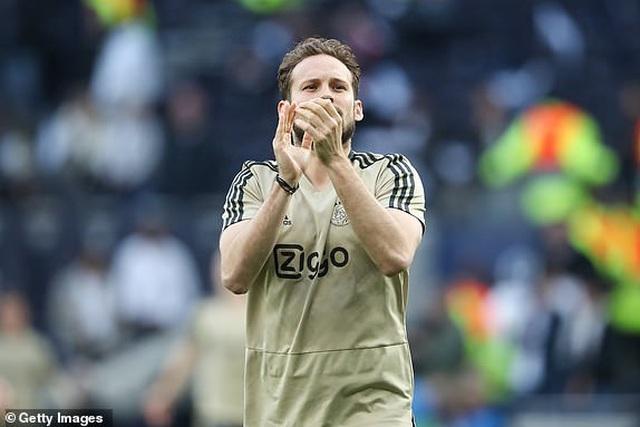 Tottenham 0-1 Ajax: Pha làm bàn của Van de Beek - 22