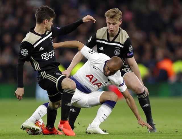 Tottenham 0-1 Ajax: Pha làm bàn của Van de Beek - 7