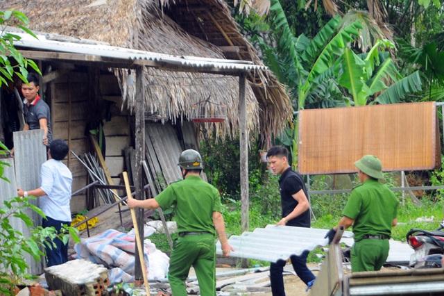Quên ngày nghỉ, cán bộ, chính quyền giúp dân khắc phục hậu quả lốc xoáy - 6