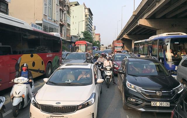 Hà Nội: Ùn tắc nghiêm trọng trên cao tốc Pháp Vân - Cầu Giẽ - 8