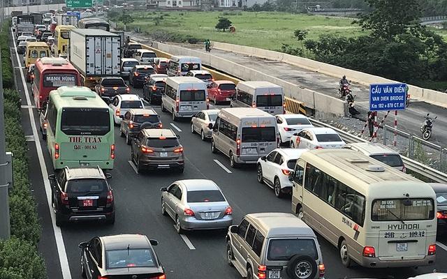 Hà Nội: Ùn tắc nghiêm trọng trên cao tốc Pháp Vân - Cầu Giẽ - 3