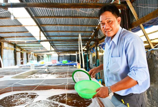 Kiên Giang: Trở thành tỷ phú nhờ nghề...đỡ đẻ cho tôm - 1