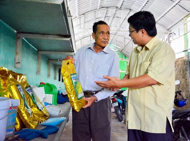 Kiên Giang: Trở thành tỷ phú nhờ nghề...đỡ đẻ cho tôm - 4